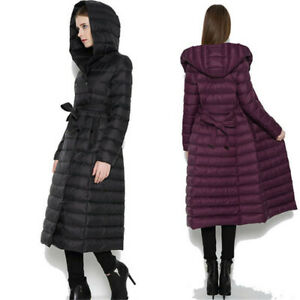 Women Hoodie Hooded Puffer Womens 90% Down cotton Jacket for Ladies Packable