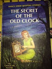 Nancy Drew  #1 1959 THE SECRET OF THE OLD CLOCK Collectible Hardcover W D J