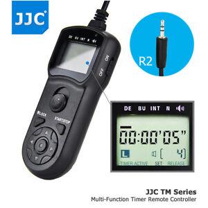 JJC Timer Remote Control for Fujifilm X-PRO3 X-T4 X-T3 X-T30 X-T20 X-E3 GFX100