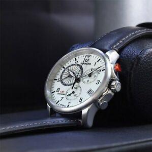 Junkers Worldtimer GMT 6892-5 Watch