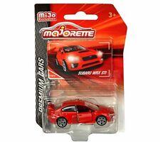 Majorette 1:64 Premium Cars Subaru WRX STI Red MiJo Exclusives 3052MJ2 Diecast