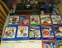 Intellivision Model 2609 with 20 Games in original boxes With Intellivoice plus