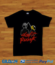 RAM Helmet Homme Tshirt Black and White Tee Daft Punk T-Shirt Herren