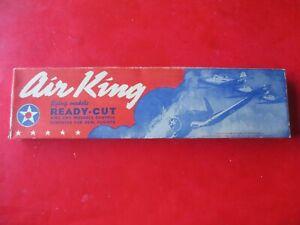 "VINTAGE RARE AIR KING BRITISH DEFIANT (STUKA) AIRPLANE KIT 25"" WING SPAN"