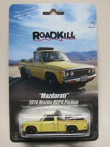 Roadkill Motor Trend Yellow 1974 Mazda Repu Pickup Mazdarati Custom Hot Wheels