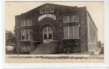 COMMUNITY HALL, FAULKTON: South Dakota USA postcard (C16901)