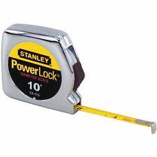 Stanley Measure 33-115 10-Feet by 1/4-Inch Powerlock Pocket Tape Rule Slim Case