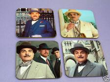 Poirot David Suchet Drinks COASTER Set