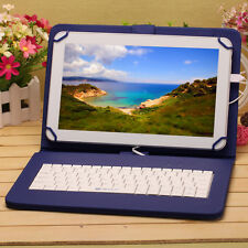 "iRULU Tablet PC 10.1"" Google Play Android 6.0 1GB/16GB Quad Core w/Blue Keyboard"