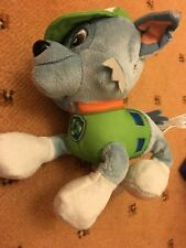 Paw Patrol Rocky cuddly toy, friend of Skye Marshall on NICK JR. L@@K at this!!