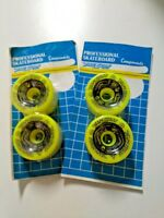 VINTAGE VARISURF POWELL PERALTA BONES YELLOW SKATEBOARD WHEELS BLISTER -95A 64mm
