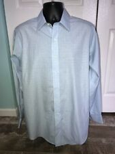 Brooks Brothers Non Iron Long Sleeve Button Front Shirt Size 15 1/2 - 34 EUC