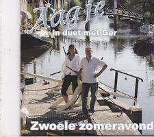 Aagje&Ger-Zwoele Zomeravond cd single