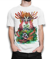 Princess Mononoke T-Shirt, Studio Ghibli Anime Tee, Men's All Sizes