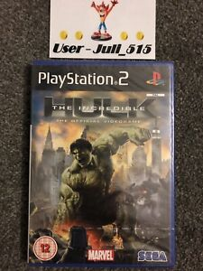 Playstation 2 Game: The Incredible Hulk (Superb Factory Sealed Condition) UK PAL