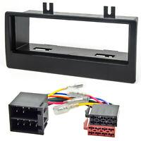 Radio Blende Adapter Kabel Set für CITROEN Xantia Xsara 2 1-DIN Rahmen schwarz