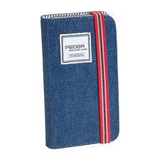 Pedea Bookstyle Cover Indigo Tasche Schutzhülle für Samsung Galaxy S5 / S5 Neo