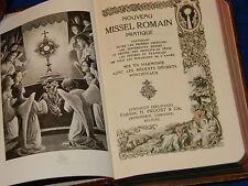 1933 paroissien ROMAIN missel prieres TURNHOUT henri PROOST chernoviz F.TESSENS