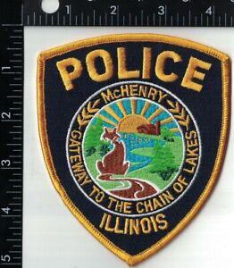 McHenry Police Patch Illinois IL
