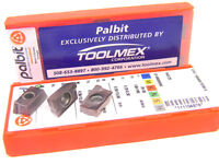 10 NEW TOOLMEX PALBIT APKT 160408-PDSR-X PH6125 CARBIDE INSERTS 111-1048-78