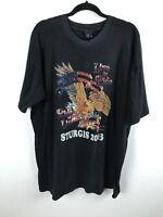 Live To Ride Sturgis 2003 Motorcycle Shirt Tshirt Black Hills Rally Eagle XL