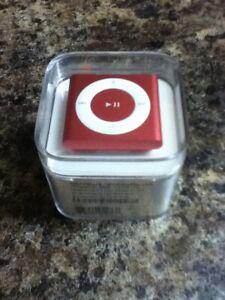 Pink Apple iPod Shuffle 4th Gen, 2GB, ME128LL/A (Worldwide Shipping)