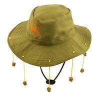 Adults Australian Hat With 10 Strung Corks Unisex Fancy Dress Party Accessory