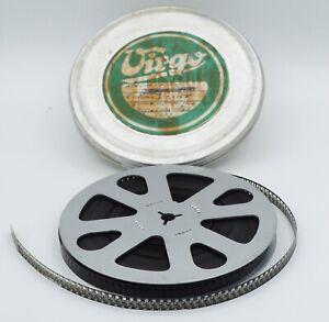 Vintage Virgo 8mm Film Reel - Game reserve 1950-Metal film&reel in canister