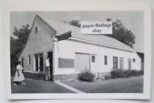 FRENCH CAMP CA Post Office Real Photo Postcard RPPC