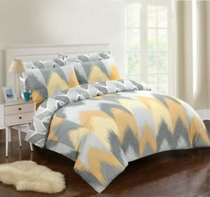 DUVET COVER 100% COTTON BEDDING SETS 200 THREAD COUNT DOUBLE SUPER KING BED SIZE