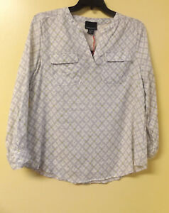 CYNTHIA ROWLEY Ladies Shirt (Blouse) Size  X-Large / NWT