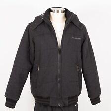 Men's ROCAWEAR Winter Wool Jacket Size XL Gray Hooded