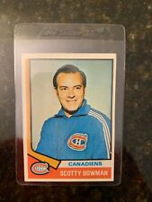 1974-75 Topps Hockey #261 SCOTTY BOWMAN ROOKIE....Only $2.22 Night!