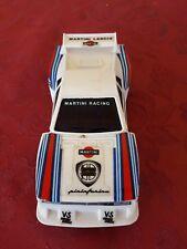 Lancia Martini Rally slot per pista elettrica 1/32 Polistil Made in Italy