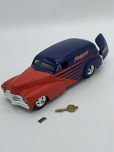 Liberty Classics 1:24 1946 Chevrolet Hot Rod Bank Diecast BROKE PLATE