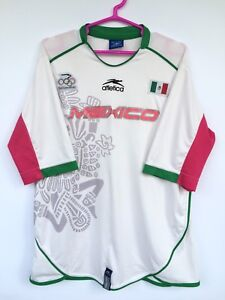 MEXICO 2004 ATLETICA OLYMPICS AWAY FOOTBALL SOCCER SHIRT JERSEY CAMISETA