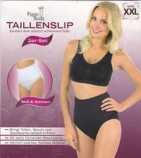 2er Set (Weiß und Schwarz) Figur Body Taillenslip in XXL - Formslip, Mieder -NEU