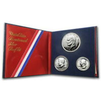 (1) 1976 United States Mint Bicentennial 40% Silver Proof 3 Piece Set