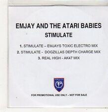 (FJ519) Emjay & The Atari Babies, Stimulate - DJ CD