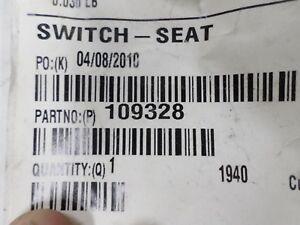 Genuine Toro seat switch 109328