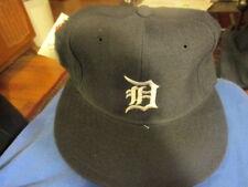 NWOT Vintage 90's Solid Blue DETROIT TIGERS Home Hat 6 7/8 New Era 5950