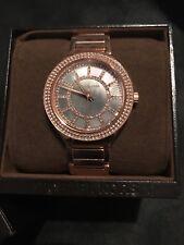 Michael Kors Kerry Rose Gold Black Pearl Quartz Analog Women's Watch MK3397