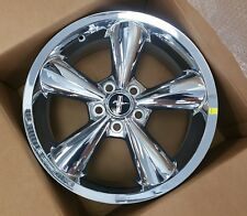 "1994-2014 Set of 4 Genuine FORD Mustang 18"" CHROME Wheels *NEW IN BOX*"