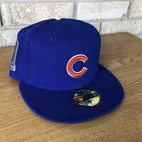 Chicago Cubs New Era 2016 Gold World Series Champions Commemorative Hat 7 MLB OG