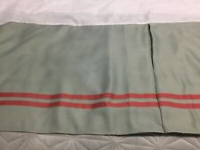 "NEW CROSCILL Tailored Teal KING BEDSKIRT 18"" Drop SPLIT CORNER"