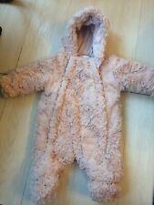 Bebé Niñas Fluffy Traje para nieve 0-3 meses George Entrega Gratis