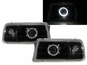VITARA ET/TA 88-98 Guide LED Halo Projector Headlight Black V1 for SUZUKI RHD