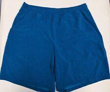 Lululemon Men's Blue Workout Running Shorts Size XL Extra Large