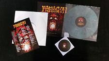 Paragon-Clair Beyond Hell LP + CD Grey vinyl + testpressung Limited 25 copies