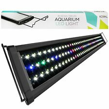 Koval Inc. 129 LED Aquarium Lighting for 36 inch - 43 inch Fish Tank Light Hood